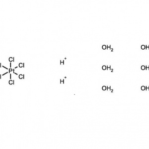 Hydrogen hexachloroplatinate(IV) hydrate, 99.9%, (trace metal basis), 38 to 40% Pt, ACROS Organics™